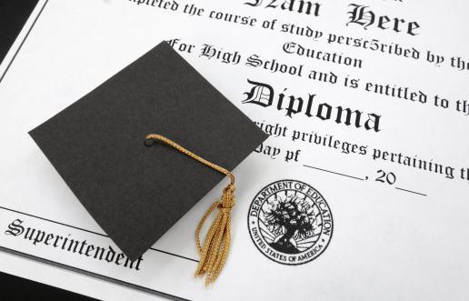 Ritiro del diploma di maturità